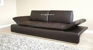 nice contemporary leather sleeper sofa eperny faux leather sleeper