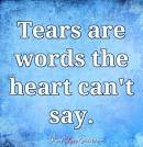 Image result for tear are words the heart can't say quotes