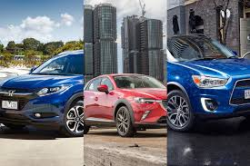 mazda 3 4x4 honda hr v vs mazda cx 3 vs mitsubishi asx which small suv should