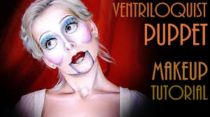 halloween makeup ventriloquist puppet lauren ivry youtube