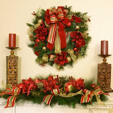 christmas decorations floral home decor silk flowers silk