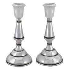 sabbath candlesticks jewish candlesticks jewish candle holder