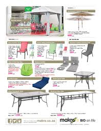 Universal Patio Furniture by Makro Catalogue 1 May 16 May 2016 Patio Furniture