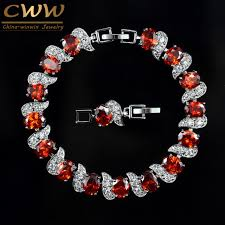 white gold crystal bracelet images Cwwzircons exquisite brand design fashion ladies jewelry white jpg