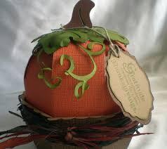 project center 3d thanksgiving pumpkin