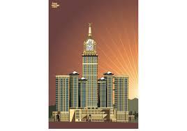makkah flat design vector download free vector art stock