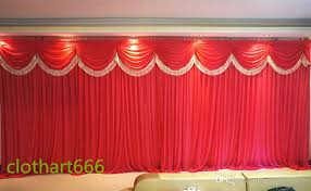 wedding backdrop on stage 2017 3m 6m backdrop wedding backcloth with swags party curtain