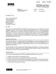 Attorney Non Engagement Letter by Kpmg Contract Final Indemnity Mediation