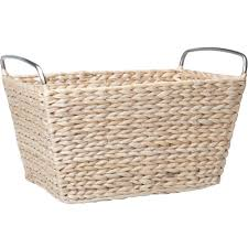 Wicker Desk Accessories by Wicker Baskets And Wicker Storage Bins Organize It