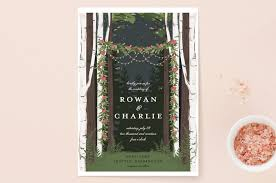 forest wedding invitations enchanted forest wedding invitations by susan moyal minted