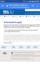 Discover Card Personal Loan Invitation Navy Federal Invitation To Apply Is This Solid Myfico Forums