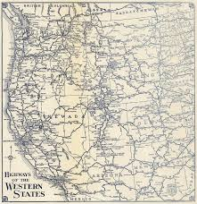 Map Of United States With Interstates by The Lost U S Highways Of Southern California History Kcet