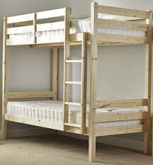 Three Person Bunk Bed Bunkbed With Trundle Guest Bed 3ft Single Bunk Bed With Underbed
