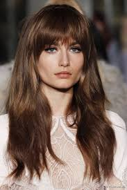 hairstyles with fringe bangs best 25 bangs for long hair ideas on pinterest side bangs with