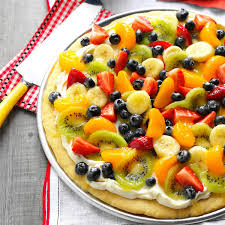 Summer Lunches Entertaining Summer Dessert Pizza Recipe Taste Of Home