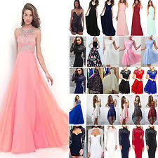 Wedding Evening Dresses Formal Dresses Short Long White Winter Ebay