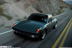 porsche 914 outlaw west meets east retromod