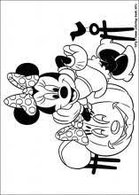 minnie mouse coloring picture coloring pages pinterest
