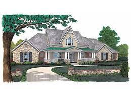 eplans gothic revival house plan impressive facade 3439 square