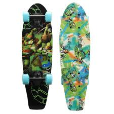 teenage mutant ninja turtles playwheels teenage mutant ninja turtles 21 in wood cruiser