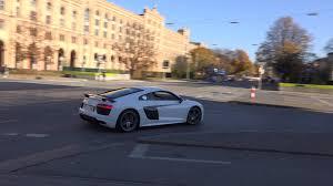Audi R8 V10 Plus - new 2015 white audi r8 v10 plus youtube