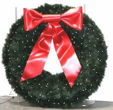 picture of extra large outdoor christmas ornaments all can