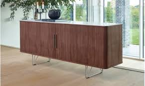 design sideboard lloyd scandinavian sideboard with tambour wooden doors