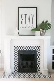 Paint Tile Fireplace by Best 10 Fireplace Tile Surround Ideas On Pinterest White