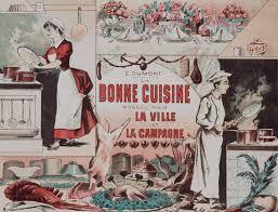 passe de cuisine la cuisine française d antan cuisiniers pâtissiers et hommes