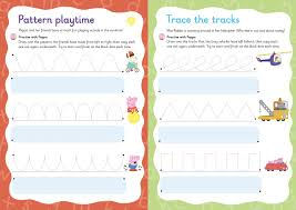 peppa pig practise with peppa wipe clean first writing amazon