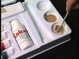 Laminate Floor Repair Kit Cal Flor Colorfill Repair Kit Youtube