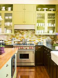 yellow kitchen backsplash ideas kitchen backsplash ideas mahogany subway tiles and white