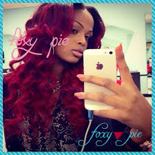 aliexpress com buy foxy pie 1b red ombre lace front curly wig