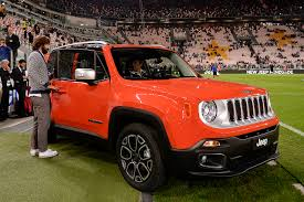 orange jeep juventus stadium becomes tinged with renegade orange press