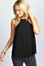 halter neck choose the trendy tops to suits your personality with halter neck
