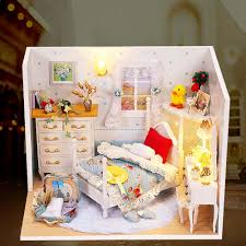 online get cheap wood furniture bedroom aliexpress com alibaba kawaii diy princess bedroom dollhouse furniture pretend play doll house toys household hand assembled model toy