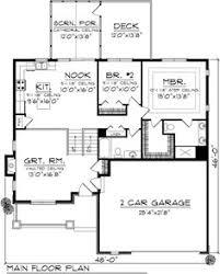 1970s split level house plans split level house plan 26040sd