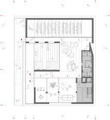 Floor Plan Of Bank by Gallery Of Km 429 Chosen To Design Isola Garibaldi Civic Center In