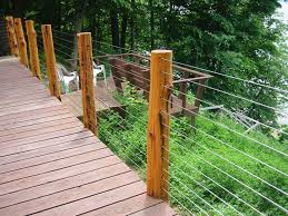 Decking Handrail Ideas Using Wire For Deck Railing Wire Deck Railing For Home U2013 Home