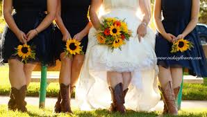 Sunflower Wedding Bouquet Wedding Bouquets Vickies Flowers Brighton Colorado Florist