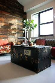 vintage trunk coffee table 16 old trunks turned coffee tables that bring extra storage and