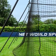 fortress baseball batting cage net world sports