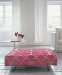 pink ottomans foter