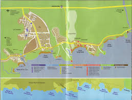 Map Of Mexico Coast by Huatulco Maps U2013 Huatulco News