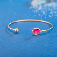 s day bracelet with birthstones fango hot 2017 fashion luxury bangle women opal gem charm