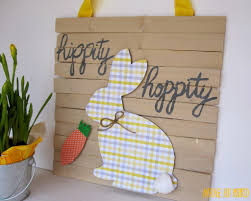 Dollar Store Home Decor Ideas Dollar Store Easter Bunny Decor Average But Inspired