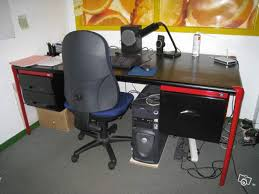 grand bureau noir grand bureau noir occasion