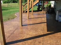 Concrete Backyard Patio by Concrete Photo Gallery Bergum Concrete U0026 Masonry Inc