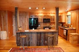 reclaimed barn wood kitchen island with wooden top decoration ideas charming parquet flooring and brown wooden