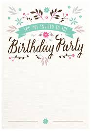 free invitations templates birthday template invitation happy birthday invitations templates